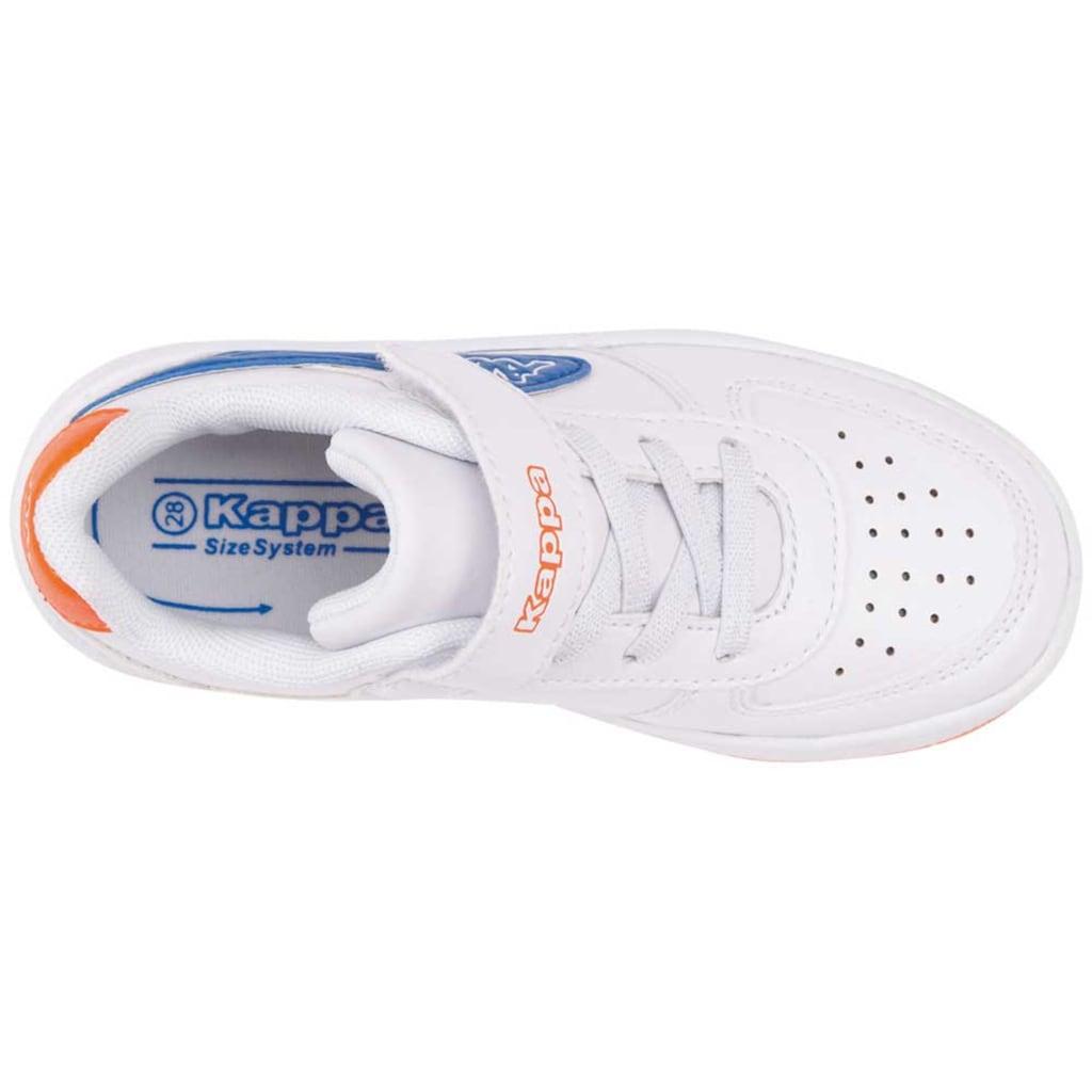 Kappa Sneaker »BASH PC KIDS«, in kinderfußgerechter Passform