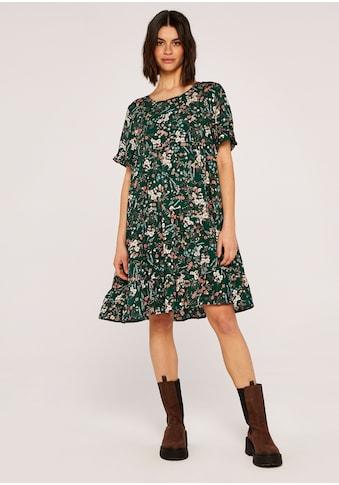 Apricot Druckkleid »Botanical Tired Dress«, mit Taschen kaufen