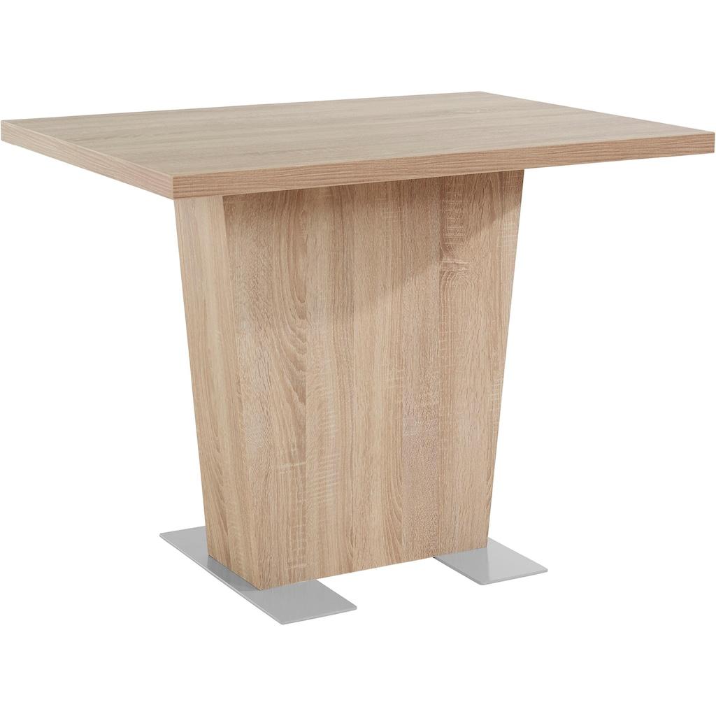 my home Säulen-Esstisch »Carola«, Breite 110 cm