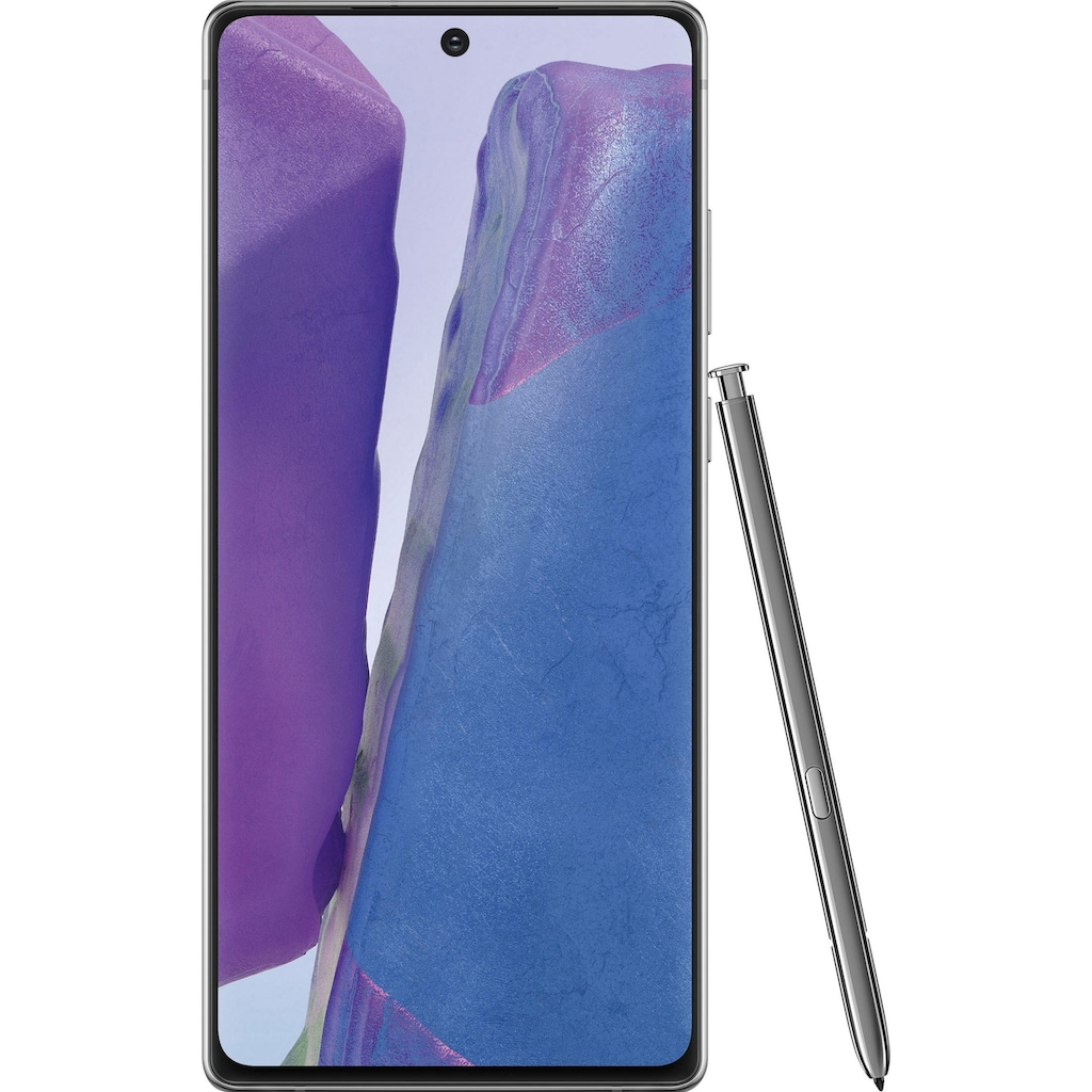 "Samsung Smartphone »Galaxy Note20«, (16,95 cm/6,7 "", 256 GB, 64 MP Kamera)"