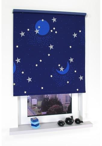 Liedeco Seitenzugrollo »Sternenhimmel«, verdunkelnd, energiesparend, freihängend kaufen