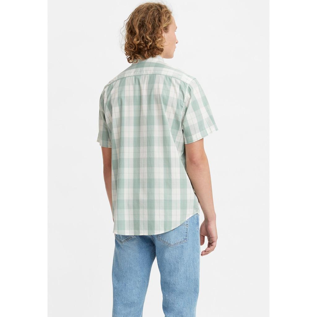 Levi's® Kurzarmhemd, mit kleinem Logoflag