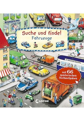 Buch »Suche und finde! - Fahrzeuge / Katharina Wieker, Lila L. Leiber« kaufen