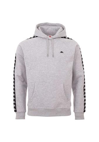 Kappa Sweatshirt »HARRO«, Logoband mit kontrastfarbenem Piping kaufen