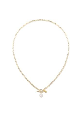 AILORIA Perlenkette »SAYURI gold/weiße Perle«, 925 Sterling Silber vergoldet Süßwasserperle kaufen