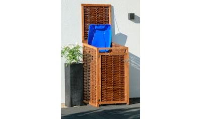 dobar Mülltonnenbox, 240l, BxTxH: 70x83x132 cm kaufen