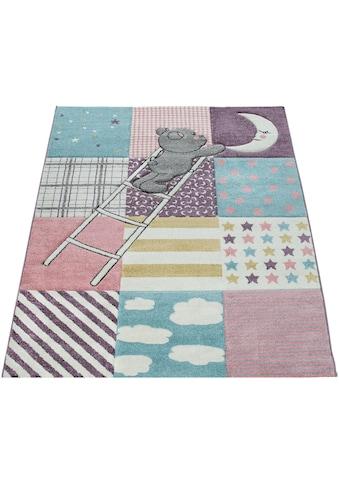 Kinderteppich, »Ela 399«, Paco Home, rechteckig, Höhe 17 mm, maschinell gewebt kaufen