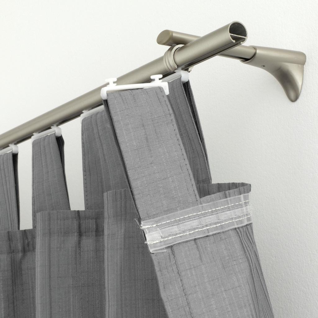 GARDINIA Klick-Gleiter »Schlaufenleiter«, Serie Flächenvorhang Technik Atlanta