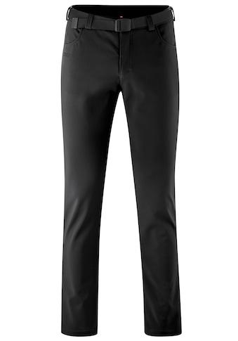 Maier Sports Funktionshose »Perlit M«, Warme Softshellhose, robust, winddicht, elastisch kaufen