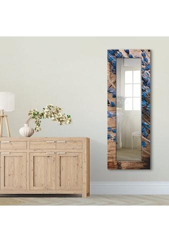 Artland Wandspiegel »Lavendel vor Holzhintergrund«, gerahmter Ganzkörperspiegel mit... kaufen