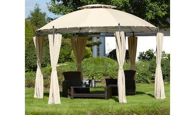 KONIFERA Pavillon »Tino«, (Set), BxT: 350 x 350 cm kaufen