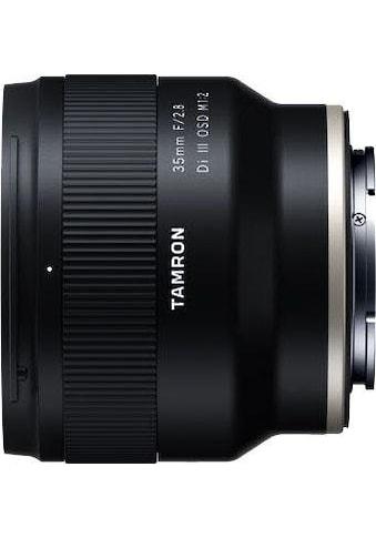 Tamron Weitwinkelobjektiv »AF 35mm F/2.8 Di III OSD 1/2 MACRO (für SONY)« kaufen