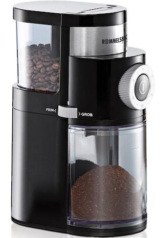 Rommelsbacher Kaffeemühle »EKM200«, 110 W, Scheibenmahlwerk, 250 g Bohnenbehälter kaufen