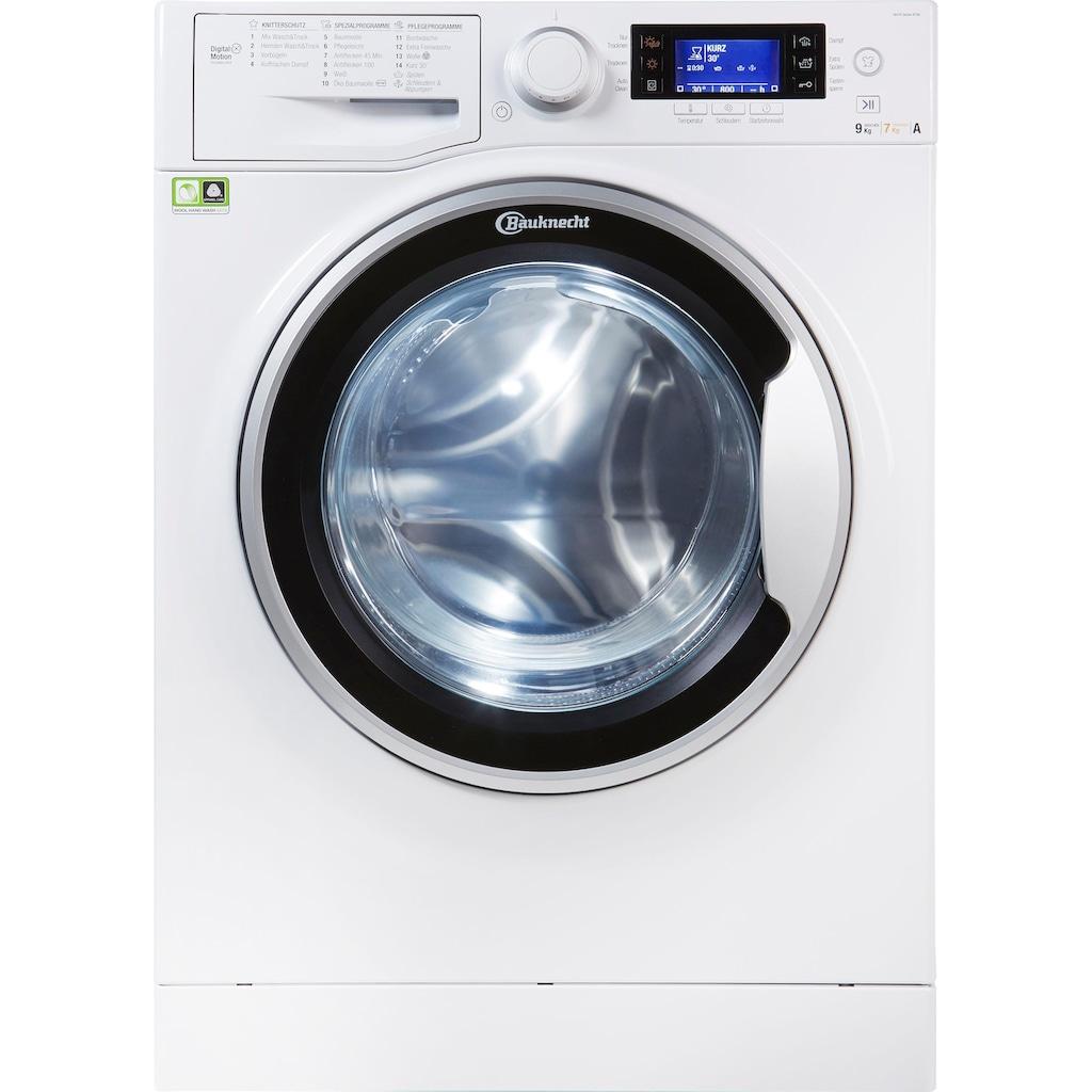 BAUKNECHT Waschtrockner »WATK Sense 97D6 EU«, 53 dB