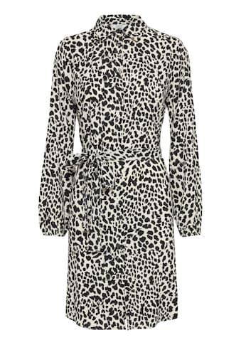 b.young Hemdblusenkleid »b.young Hemdblusenkleid mit Allover Print«, Freizeitkleid mit... kaufen