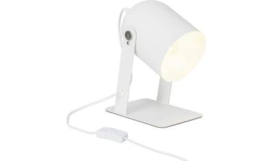 Brilliant Leuchten Yan Tischleuchte 29cm weiß kaufen