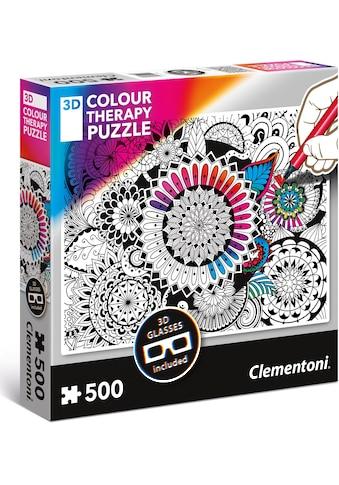 """Clementoni® Puzzle """"Colour Therapy: Blumen"""" kaufen"""