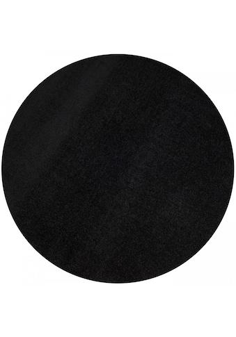 Living Line Teppich »Trend«, rund, 8 mm Höhe, Velours, Wohnzimmer kaufen
