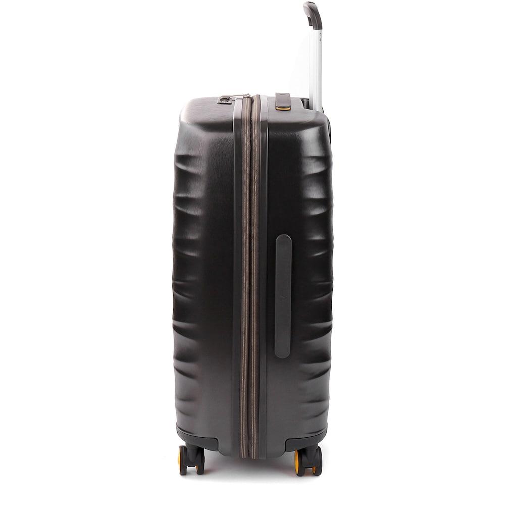 RONCATO Hartschalen-Trolley »Stellar, 64 cm«, 4 Rollen, mit Volumenerweiterung