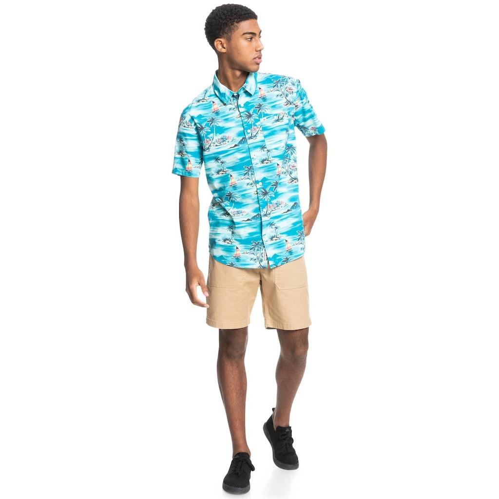 Quiksilver Kurzarmhemd »Island Hopper«