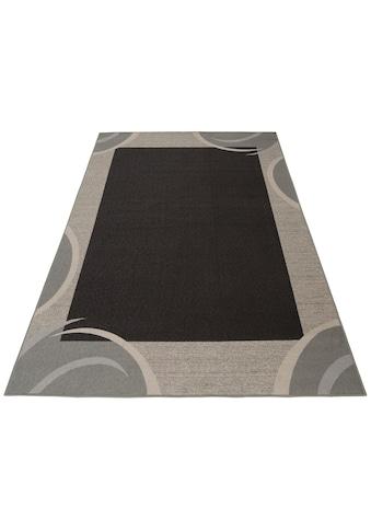 THEKO Teppich »Loures«, rechteckig, 6 mm Höhe, Kurzflor, mit Bordüre, Wohnzimmer, Kundenliebling mit 4,5 Sterne-Bewertung! kaufen