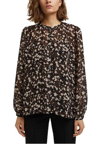 Esprit Collection Chiffonbluse, mit Untertop kaufen