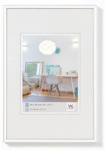 Walther Bilderrahmen »New Lifestyle Kunststoffrahmen 30 x 40 cm, WEISS«, (1 St.) kaufen