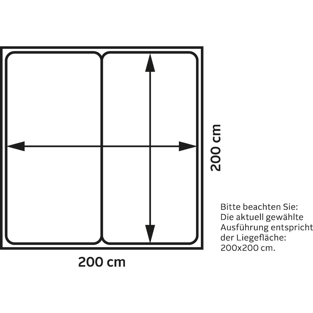 TOM TAILOR Boxspringbett »SOFT CLOUD BOX«, mit dekorativem Knopfdetail am Kopfteil