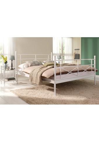 Home affaire Metallbett »Thora«, aus einem schönen Metallgestell, in verschiedenen... kaufen