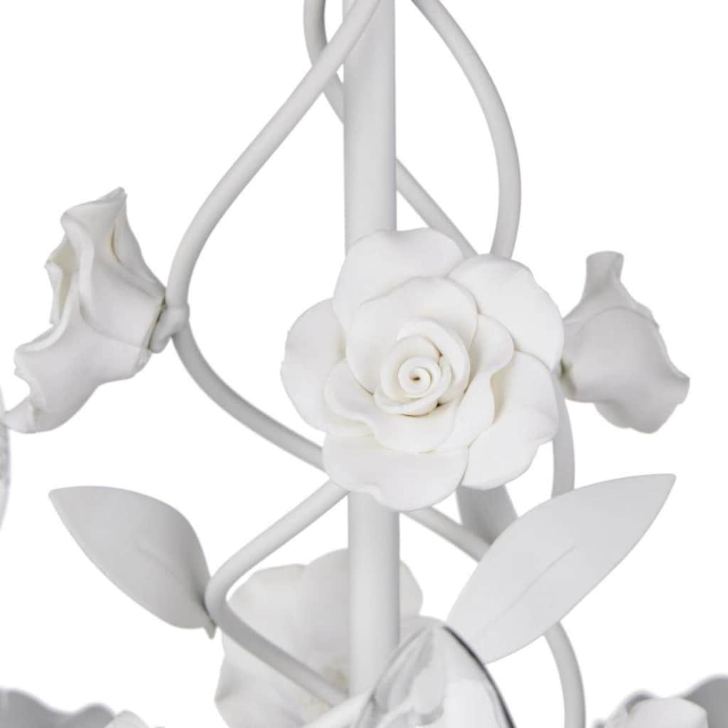Kronleuchter »Rose«, E14, Hängeleuchte, Pendellampe, Pendelleuchte