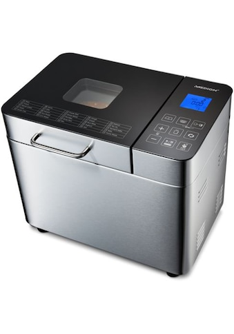 Medion® Brotbackautomat »MD 10241«, 25 Programme, 600 W, 25 Programme, Edelstahlgehäuse kaufen