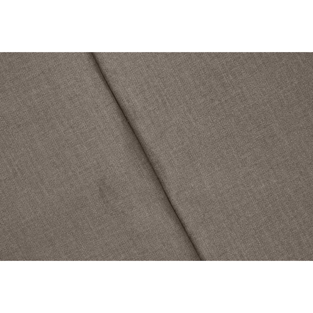Leonique Dekokissen »Océane«, passend zum Bett Oceáne in Samtvelours und Feinstruktur, 2-er Set