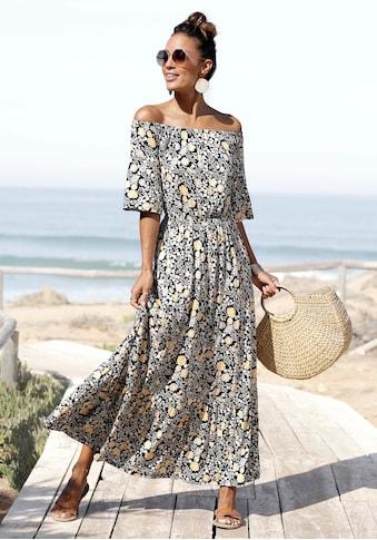 LASCANA Maxikleid, mit Blumendruck kaufen