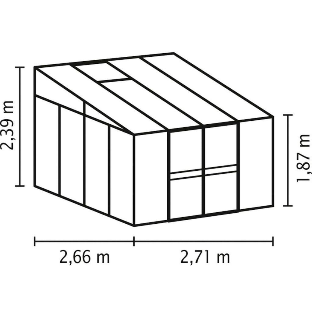 Vitavia Anlehngewächshaus »Helena 7000«