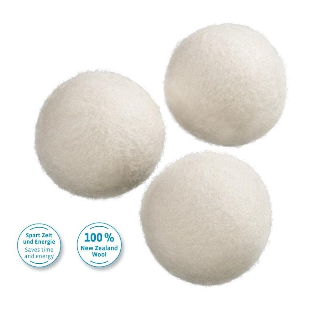 Xavax Trocknerbälle aus Wolle, 3 Stück