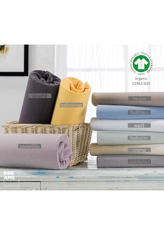 Florella Spannbettlaken »mit Rundumgummi, Matratzenhöhe bis 25 cm, Organic Cotton« kaufen