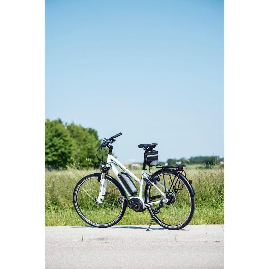 Hama Satteltasche Fahrrad mit Schnellverschluss, wasserabweisend