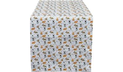 HOSSNER - HOMECOLLECTION Tischläufer »32657 Rabbits« kaufen