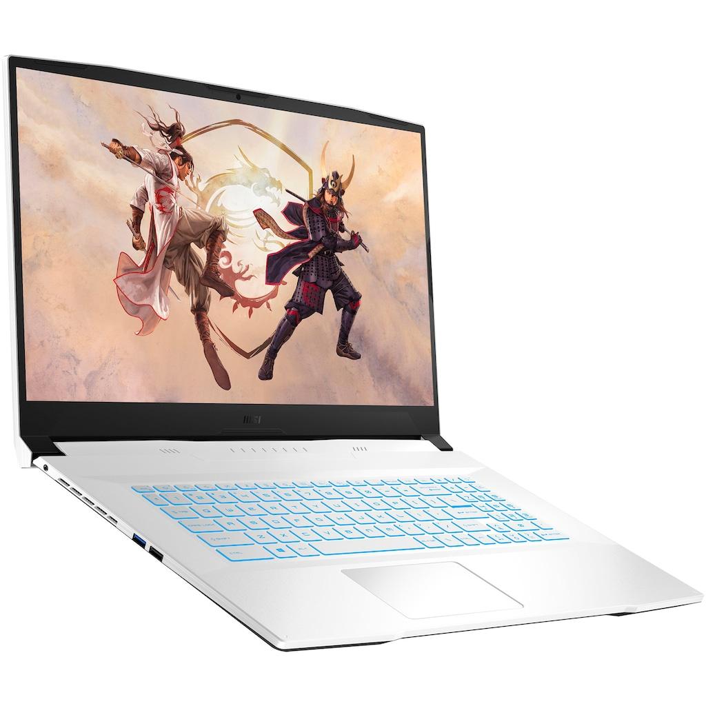 "MSI Notebook »Sword 17 A11UC-240«, (43,9 cm/17,3 "" Intel Core i7 GeForce RTX™ 3050\r\n 512 GB SSD), Kostenloses Upgrade auf Windows 11, sobald verfügbar"