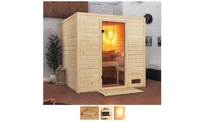 Karibu Sauna »Jacky«, ohne Ofen kaufen