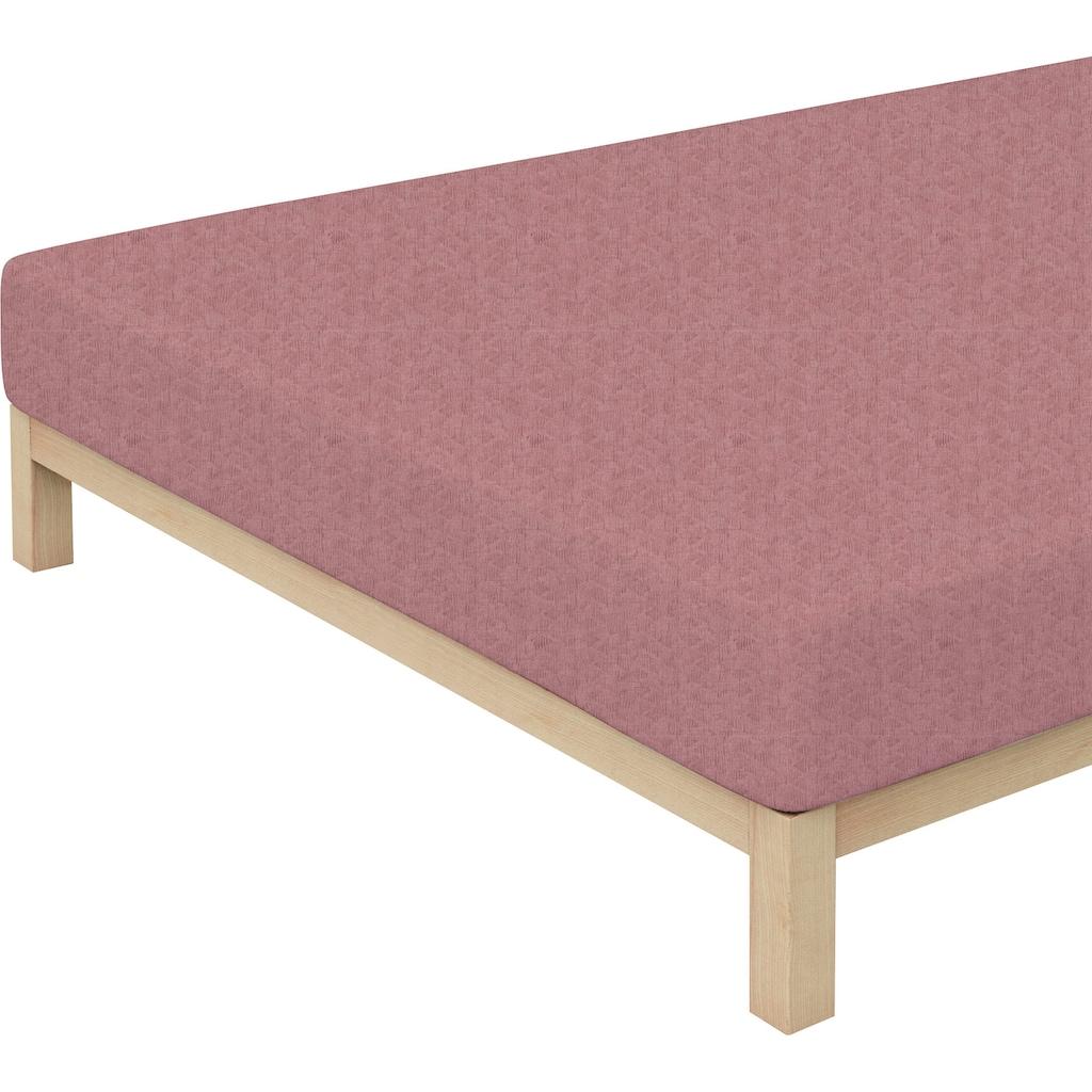 Schlafgut Spannbettlaken »Donegal«, passend zu Bettwäsche und Kissenbezug