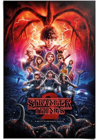 Reinders! Poster »Poster Stranger Things Netflix«, Serien, (1 St.) kaufen