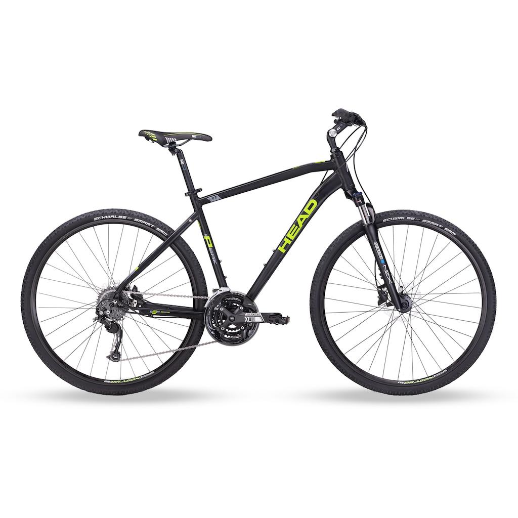 Head Crossrad »I-Peak II«, 24 Gang, Shimano, Acera RDM3100 Schaltwerk, Kettenschaltung