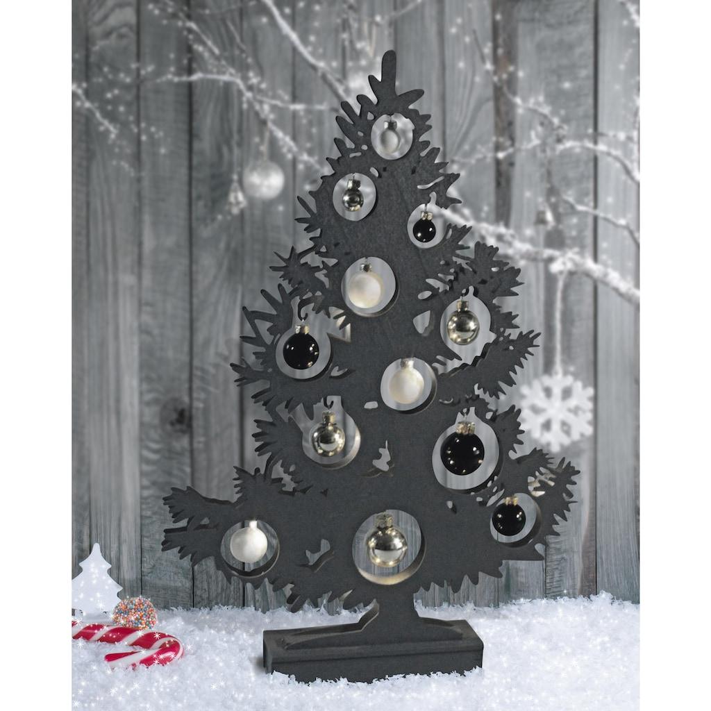 näve LED Dekoobjekt »BAUM«, LED-Board, Warmweiß, Höhe 50 cm