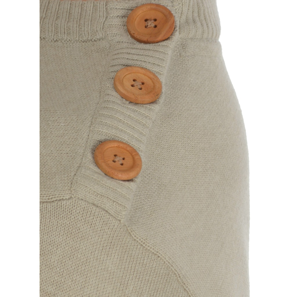 Blend Rundhalspullover »Louis«, Strickpulli mit Knopfleiste auf der Schulter