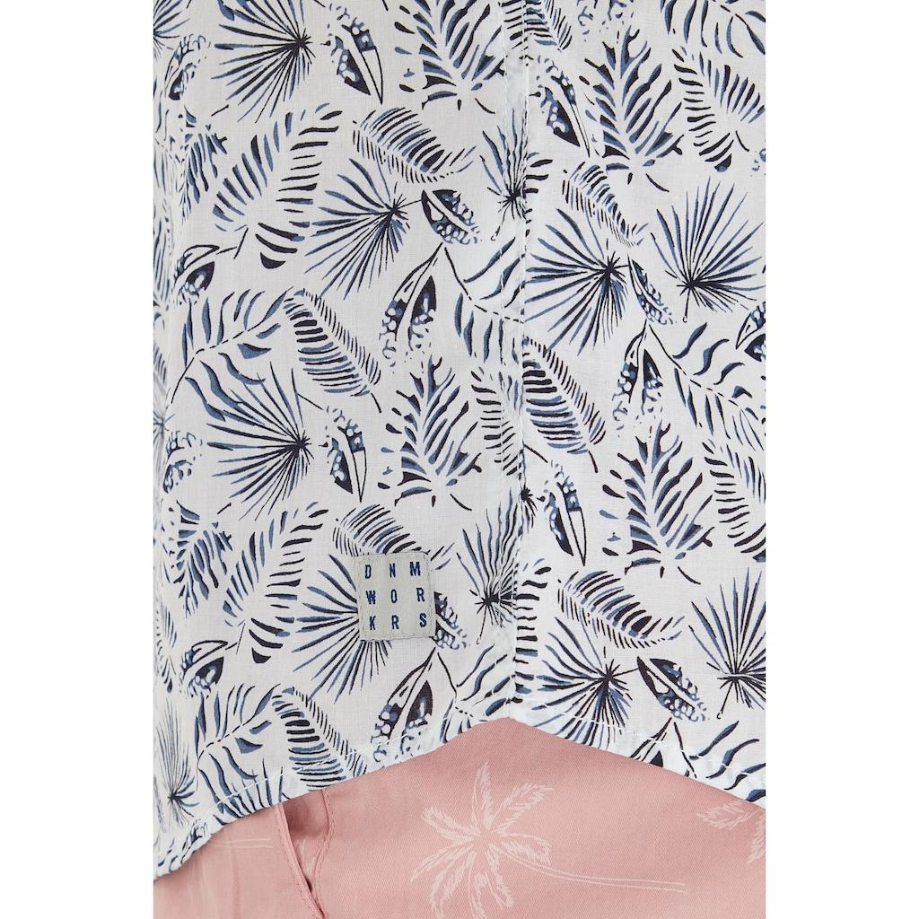 Blend Kurzarmhemd »Blend Kurzarmhemd mit Allover Print«, Kurzarmhemd mit Print