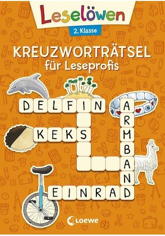 Buch »Leselöwen Kreuzworträtsel für Leseprofis - 2. Klasse (Orange) / Katrin Merle« kaufen
