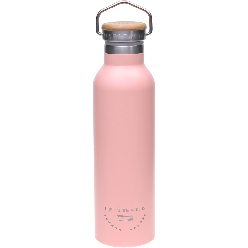 LÄSSIG Trinkflasche »Adventure, rose«, isoliert