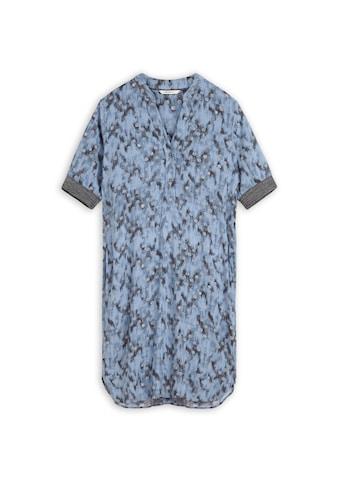 Sandwich Kleid mit grafischem Punkteprint kaufen