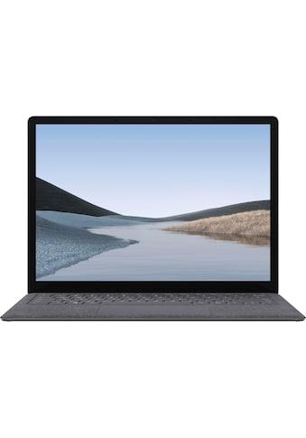 "Microsoft Notebook »Surface Laptop 3 13,5"" PixelSense™ Display 8GB / 128GB i5 Platin... kaufen"